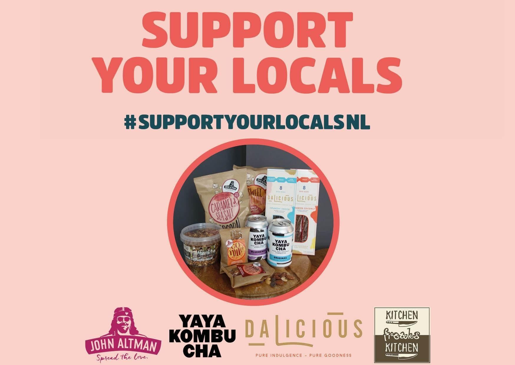 Sweet Box #supportyourlocalsNL (Verzending per post) - John Altman