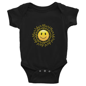 """Your smile is contagious"" Infant Bodysuit"