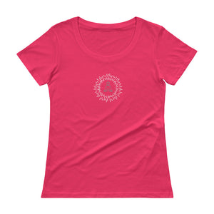 """Frequency"" Ladies' Scoopneck T-Shirt"