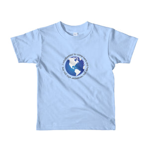 """I volunteered""  kids t-shirt"