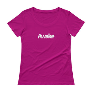 """Awake"" Ladies' Scoopneck T-Shirt"