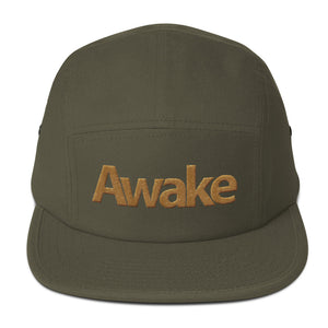 """Awake"" Five Panel Cap"