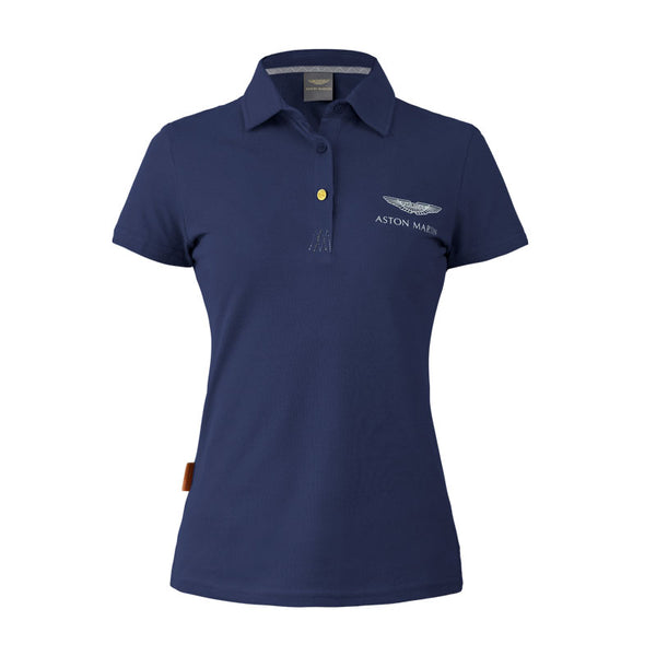 NAVY ASTON MARTIN POLO - LADIES