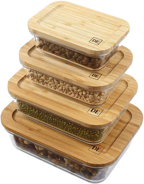 Plastic Free Bamboo Food Storage Container | 10 Sustainable Products You Need In Your Home!