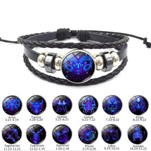Load image into Gallery viewer, Zodiac Jewelry Bracelet Constellation Bracelet Horoscope | Shop The Coolest