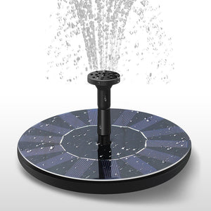 Solar Powered Fountain Outdoor Solar Fountain Portable Floating Solar Fountain