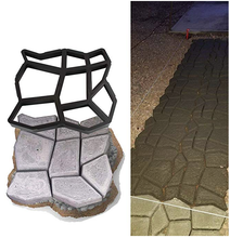 Load image into Gallery viewer, Reusable Path Maker Concrete Molds
