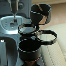 Load image into Gallery viewer, Multi Cup Holder Car Cup Holder Black Multfunctional Cup Holder