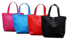 Load image into Gallery viewer, Tote Bag Reusable Shopping Bag Large Fold-able Tote Pouch with Button