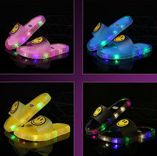 Load image into Gallery viewer, LED Slippers Kids LED Light Sandals Slippers with LED Lights