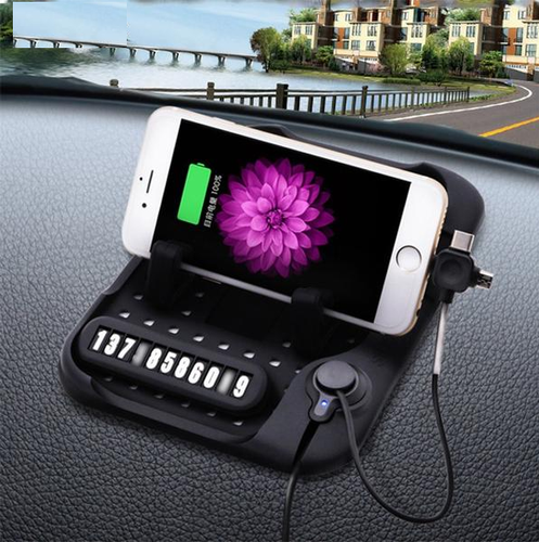 Cell Phone Holder Car Non-slip Dash Mat