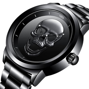 Men Quartz Watch Stainless Steel Watch Waterproof