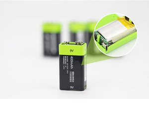 USB Rechargeable Battery  9V
