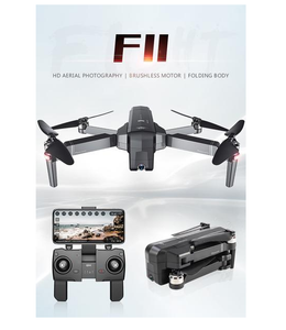 GPS Drone With Wifi FPV 1080P Camera Foldable SJRC F11 Drone