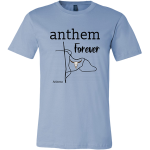 Anthem- Arizona Male Canvas (Black Font)