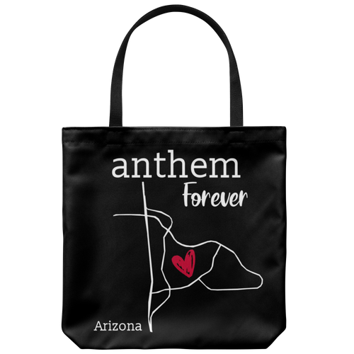 Anthem - Arizona Tote Bag