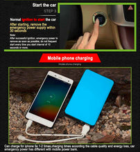 Load image into Gallery viewer, Portable Jumper Cables Portable Jump Start Power Bank