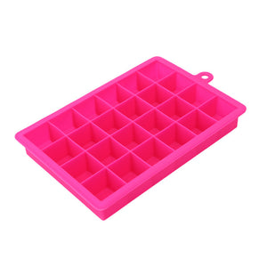 Silicone Ice Cube Tray Large 24 Ice Mold