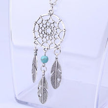 Load image into Gallery viewer, Retro Dream Catcher Pendant Chain Necklace
