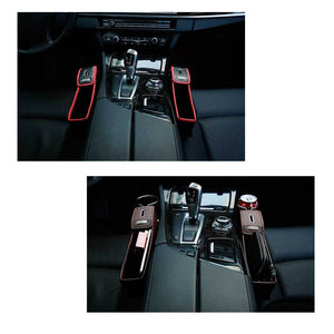 Car Seat Gap Pocket Gap Filler Side Console 1 pc