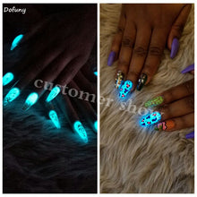 Load image into Gallery viewer, Glow In The Dark Nail Polish Phosphor Powder