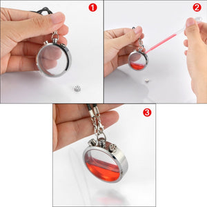 Car Perfume Bottle Pendant Air Freshener with Perfume Car Diffuser
