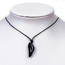 Load image into Gallery viewer, Crystal Necklace Mens Glass Crystal Pendant