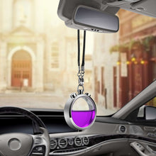 Load image into Gallery viewer, Car Perfume Bottle Pendant Air Freshener with Perfume Car Diffuser