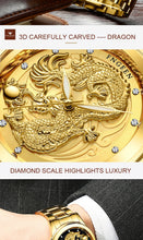Load image into Gallery viewer, Luxury Watch Men Dragon Watch