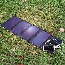 Load image into Gallery viewer, Portable Solar Charger 28W