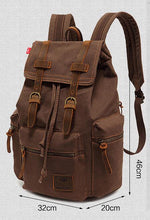 Load image into Gallery viewer, Travel Backpack Vintage Hiking Backpack