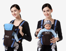 Load image into Gallery viewer, Breathable Front Facing Baby Carrier 4 in 1 Infant Comfortable Sling Backpack Pouch Wrap Baby Kangaroo