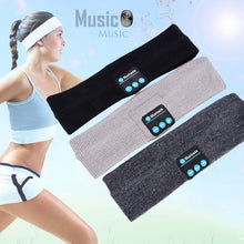 Load image into Gallery viewer, Bluetooth headband Bluetooth Sweatband Running Sports Headband with MIC