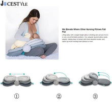 Load image into Gallery viewer, Baby Breastfeeding Pillow Portable Nursing Pillow