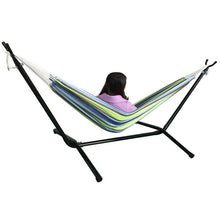 Load image into Gallery viewer, Camping Hammock Portable Hammock with Stand and Handbag Hanging Bed