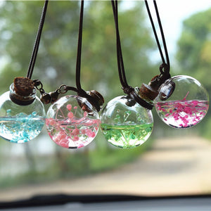 Car Perfume Bottle Humidifier Air Freshener