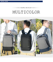 Load image into Gallery viewer, Anti Theft Backpack USB Charging Backpack