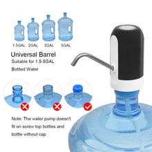 Load image into Gallery viewer, Automatic Water Dispenser Pump Portable Water Dispenser Pump