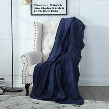 Load image into Gallery viewer, Gravity Blanket 25 pounds Weighted Blanket 80 inches x 87 inches
