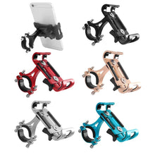 Load image into Gallery viewer, Motorcycle Phone Mount Bike Phone Mount Strong Aluminum Best Bike Phone Mount