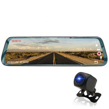 Load image into Gallery viewer, Recording Rear view Mirror with Cameras Universal