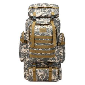 Military Backpack Waterproof Large Capacity for Hiking and Travel