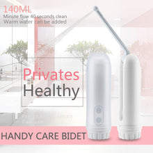 Load image into Gallery viewer, Handheld Mini Travel Electric Portable Bidet