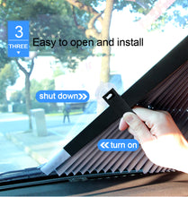 Load image into Gallery viewer, Retractable Car Sunshade