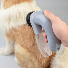 Load image into Gallery viewer, Electric Pet Vacuum Fur Cleaner Hair Remover Deshedding Tool Battery Operated