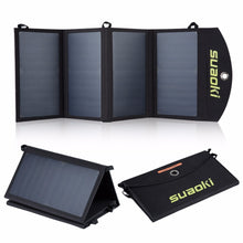 Load image into Gallery viewer, Solar Panel Portable Charger 25W Waterproof