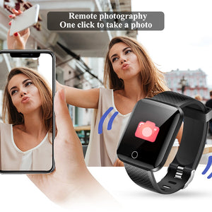 Waterproof Fitness Tracker Sport Smart Bracelet with Heart Rate Monitor