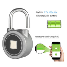 Load image into Gallery viewer, Smart Lock Fingerprint Lock with Bluetooth Key-less Lock