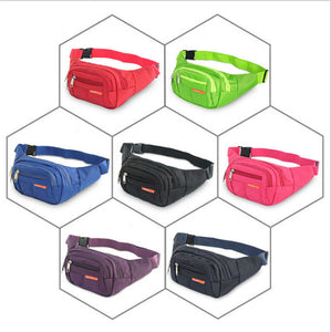 Fanny Pack Waist Hip Belt Bag Travel Sport Bum Nylon