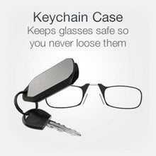 Load image into Gallery viewer, Portable Keychain Reading Glasses